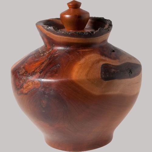 Scott Schlapkohl Creations - Cherry Lidded vessel alternate image 1