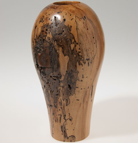 Scott Schlapkohl Creations - Timeless Vase Peppered with Termite Memories