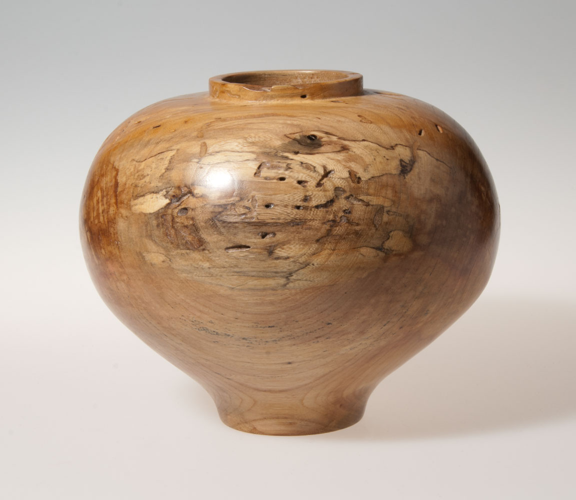 Scott Schlapkohl Creations - Spalted Medium Vessel